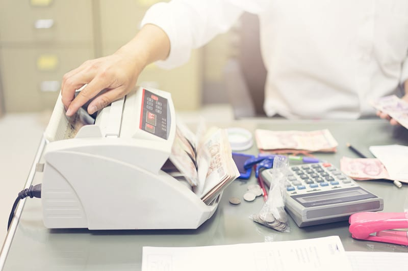 cash counting machine in gurgaon